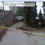 La calle desde el otro extremo (googlemaps, streetview)