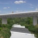 Nuevo Puente Sobre El Rio Gallego