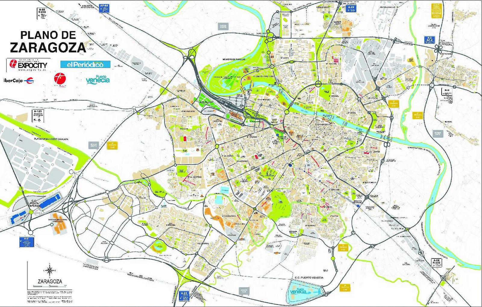 El curioso mapa del 2009   Avenida Cataluña   Zaragoza