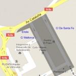 apagadas (CHA exige el encendido de las farolas del entorno de la avenida de Cataluña)