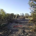 4 (Carril bici y camino destrozado en ribera del Rio Gallego)