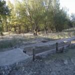 7 (Carril bici y camino destrozado en ribera del Rio Gallego)