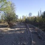 9 (Carril bici y camino destrozado en ribera del Rio Gallego)