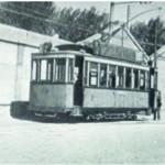 escolar tranvia (En 1906 disimulabamos muy bien)