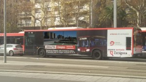 Linea 32 por Zaragoza
