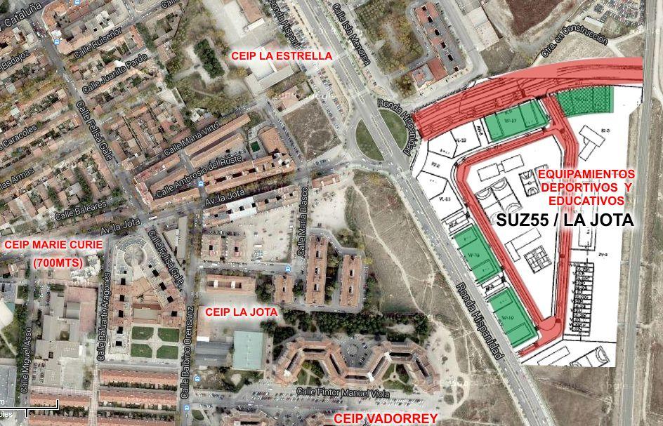 El Proyecto Suz55 Avenida Cataluña Zaragoza
