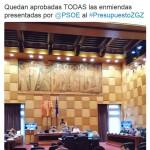 enmiendas (500.000 euros para la fase 1)