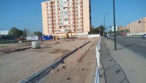 obras en la avenida